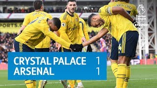Crystal Palace vs Arsenal (1-1) | Premier League Highlights