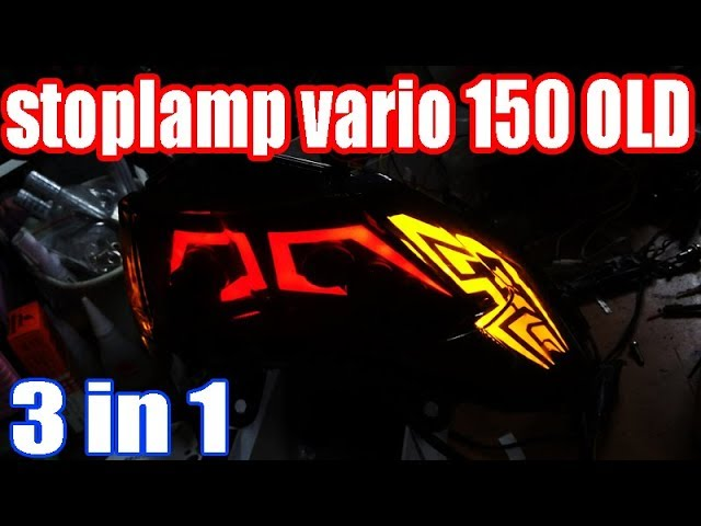 Stoplamp honda vario 125/150 OLD LED || chudax bikers shop