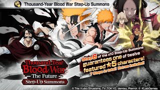 THE TIME HAS COME!!! Thousand Year Blood War The Future Step-Up Summons: Bleach Brave Souls!