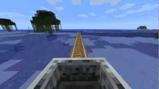 le plus grand train du monde dans minecraft