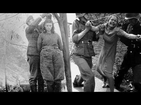Что делали немцы с женщинами которых брали в плен.