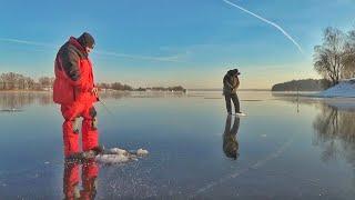 Рыбалка на водохранилище Открываем сезон твердой воды 2020 2021