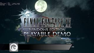 Final Fantasy XV Windows Edition Options Walkthrough (1080p)