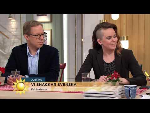 Här är Sveriges värsta särskrivningar - Nyhetsmorgon (TV4)