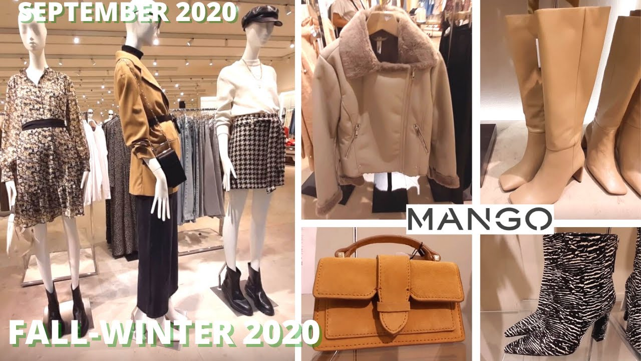 MANGO NEW FALL-WINTER 2020 Fashion Styles for Women! [MID-SEPTEMBER 2020]- Just in!! Women's fashion