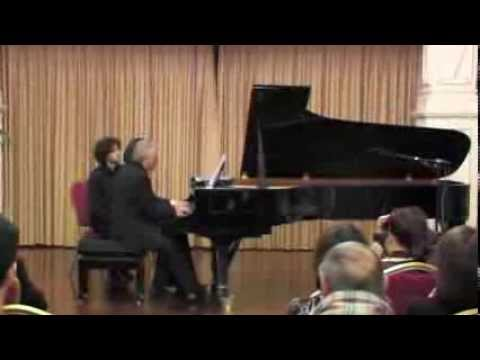 Pablo Galdo & Imre Rohmann play Brahms Hungarian Dance No.5