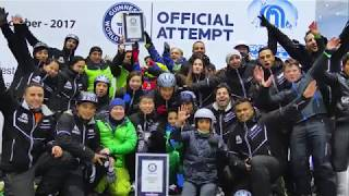 Guinness World Records: Greatest Distance Skied In An Indoor Slope In 8 Hours