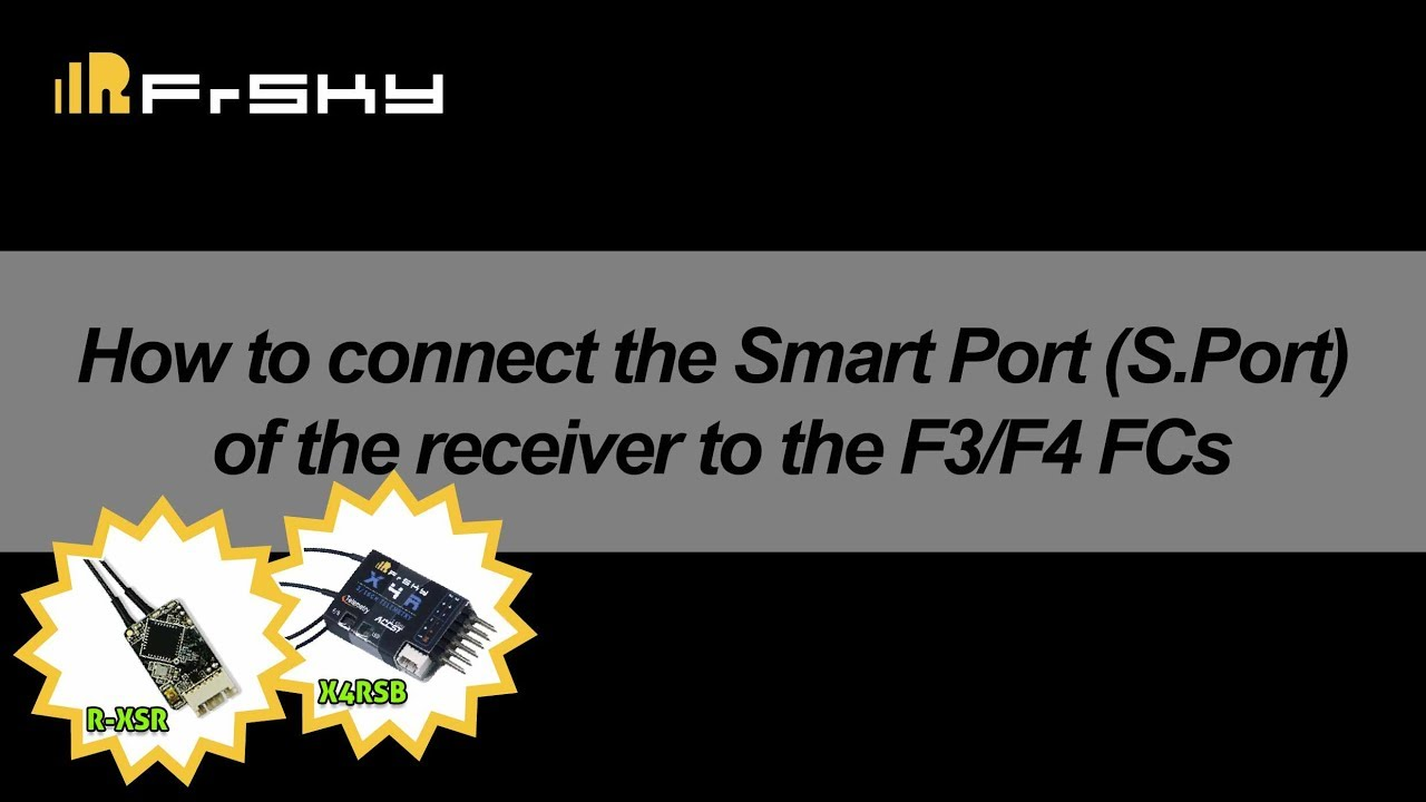 How To Connect The Smart Port Sport Of Receiver F3 F4 1967 Mini Wiring Diagram Fcs