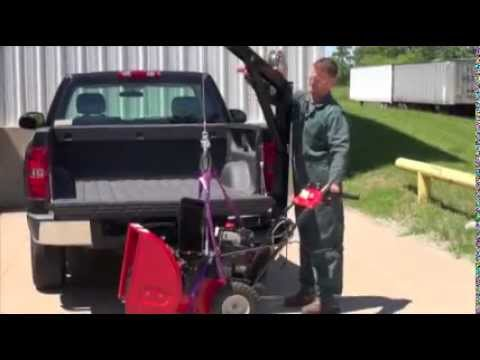 Class 4 Hitch >> Vestil Pickup Truck Hitch Crane - YouTube