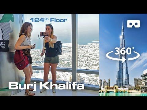 Burj Khalifa – Dubai (360 degree) VR