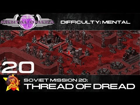 Mental Omega 3.3 // Soviet Mission 20: Thread of Dread