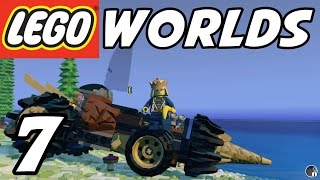 LEGO Worlds - E07 - Drilling Vehicle! (Gameplay Playthrough 1080p60)