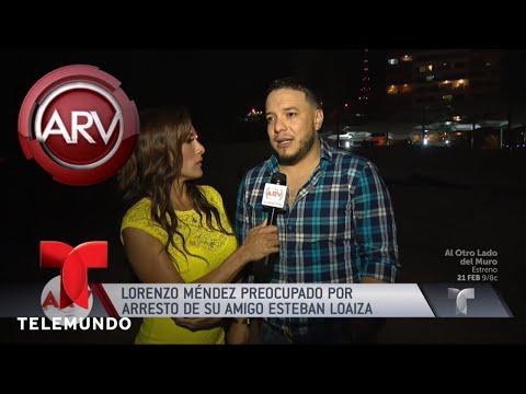 Lorenzo Méndez sorprendido por arresto de Esteban Loaiza | Al Rojo Vivo | Telemundo
