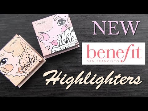 Download Benefit NEW Cookie & Tickle Highighters: Swatches, Application, Review