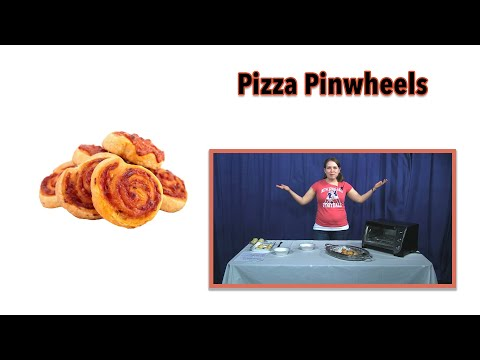 Pizza Pinwheels Super Bowl Snacks with NORCAM Kate !!!
