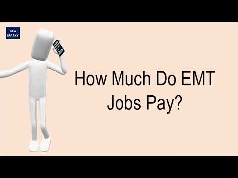 How Much Do EMT Jobs Pay?