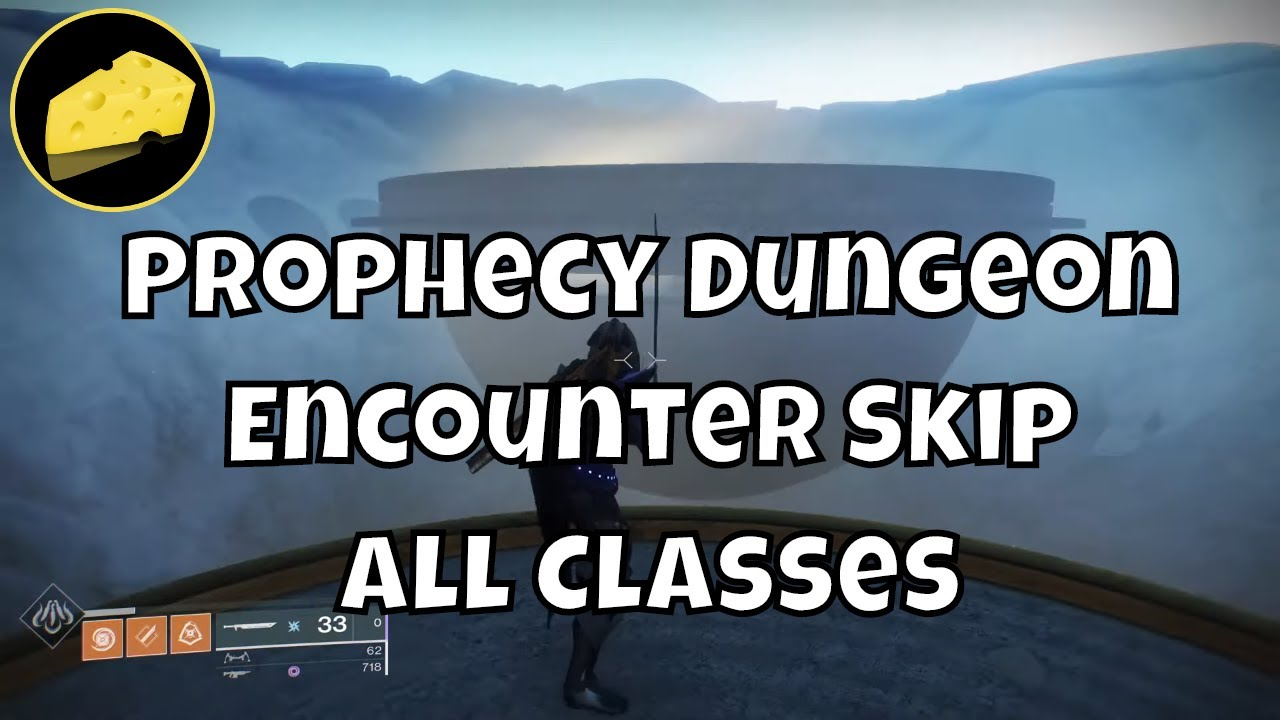Prophecy Dungeon First Encounter Skip All Classes Solo Flawless Speedrun Cheese + No Sword Method