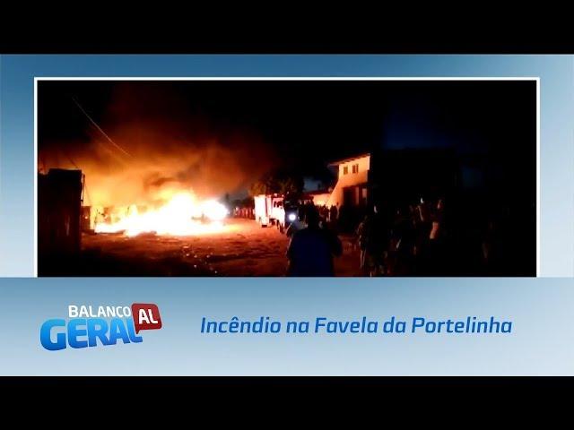 Vítimas de incêndio na Favela da Portelinha não têm para onde ir