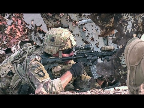 U.S. Soldiers In Action – Squad Movements