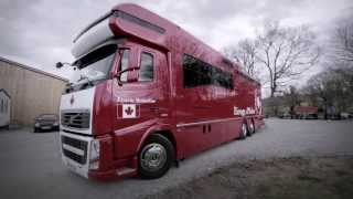 "Volvo Trucks - Canada - a winning team - ""Welcome to my cab"""