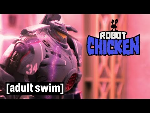 Pacific Rim | Robot Chicken | Adult Swim