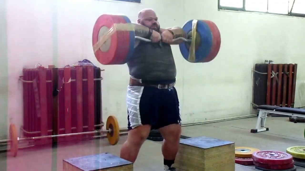 high pull 15x150kg