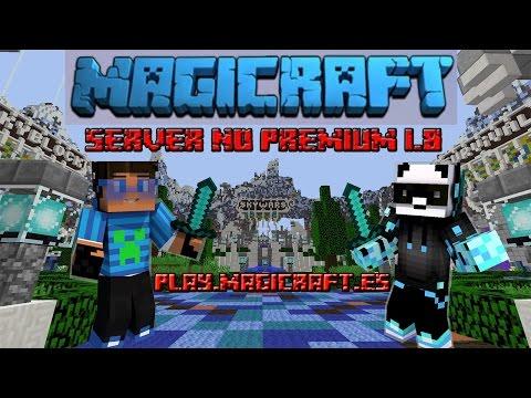 Review de server MAGICRAFT | Un Hacker, legolas y un Panda Volador | SKYWARS