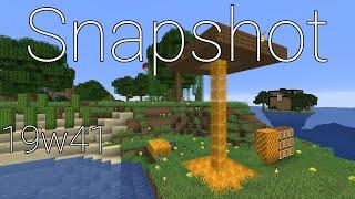 Minecraft: Snapshot 19w41