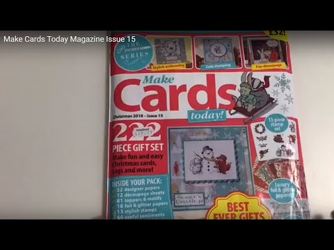 Make Cards Today Magazine Issue 15