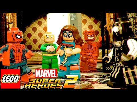 HOMEM ARANHA NOIR E O REI DO CRIME no LEGO Marvel Super Hero