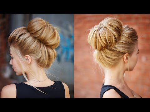 Pictures of Topknot and Updo Hairstyles