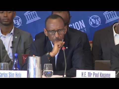 President Kagame co-chairs UN Broadband Commission Meeting | New York, 18 September 2016