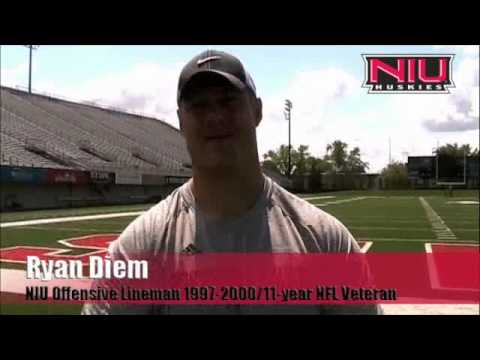 Ryan Diem and Garrett Wolfe Visit NIU