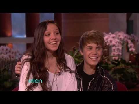 Justin Bieber on Ellen Part 2