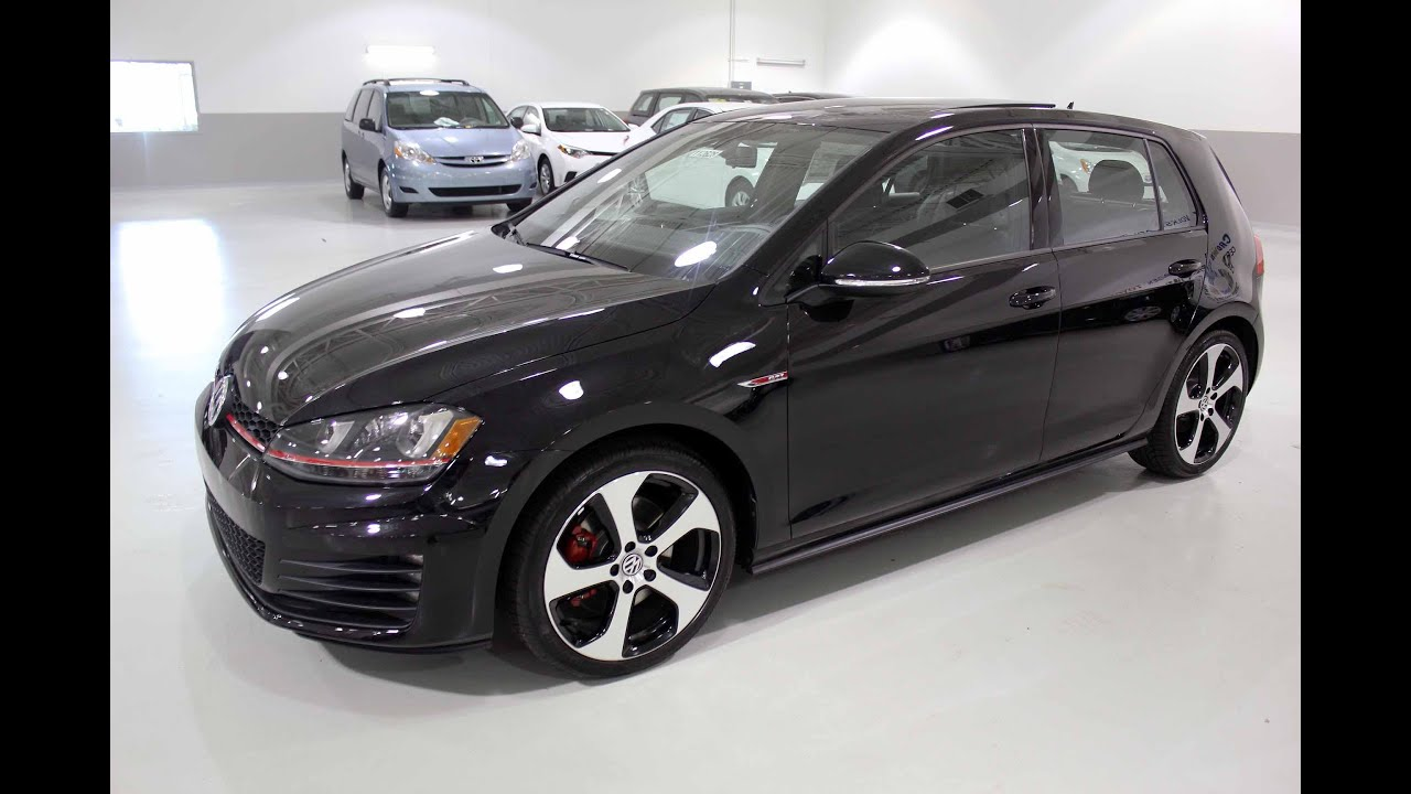 The New 2015 Volkswagen Gti 4dr Hb Dsg Autobahn Youtube