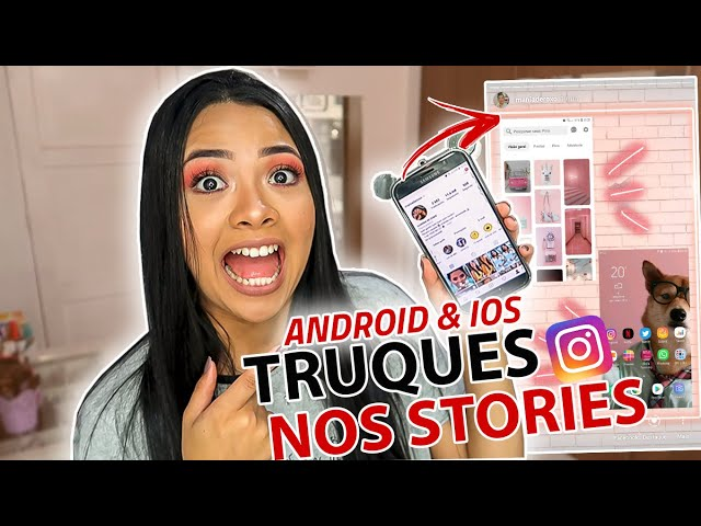 NOVOS TRUQUES PRO INSTAGRAM STORIES!! *dica top pra Android*