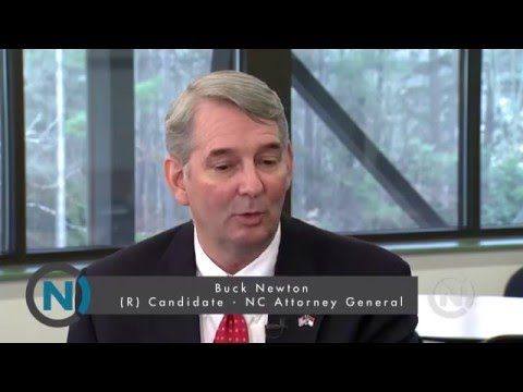 Buck Newton On Why He Should Be NC Attorney General | NC Channel