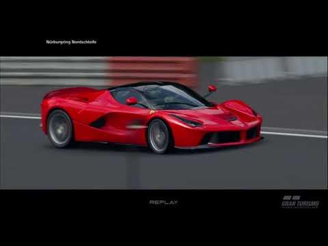 Ferrari LaFerrari - Nurburgring Lap Time (Gran Turismo Sport)