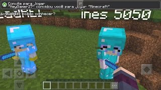 INVADI O MUNDO DO INSCRITO E ENCONTREI NOVOS BEBÊSI! MINECRAFT POCKET EDITION 1.0