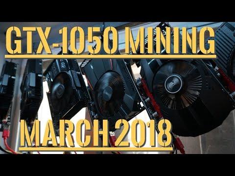 GTX 1050 Mining Profitability | March 2018