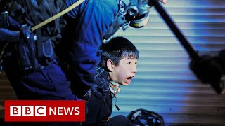 How Hong Kong got trapped in a cycle of violence - BBC News