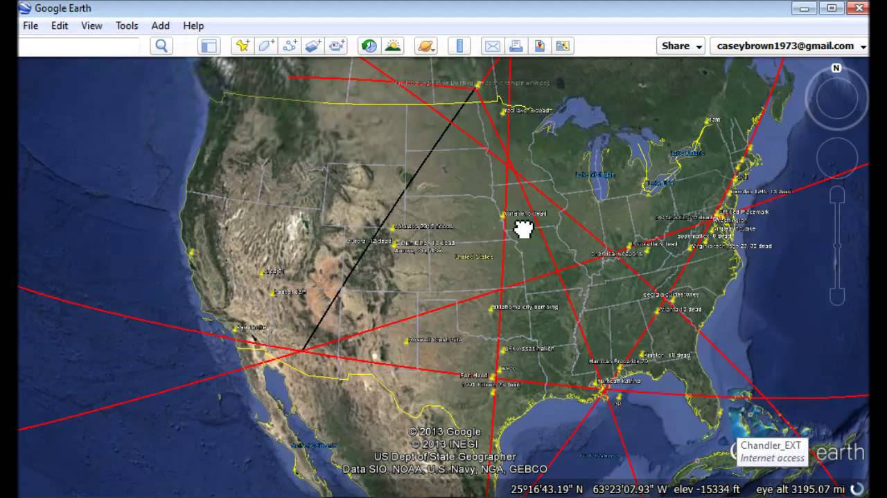 ley lines usa map with Watch on Canada Carte Detaillee in addition Rifts East together with Watch in addition East Coast Of America Fault Line together with Alabama State Map Interstate Highways.