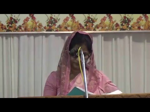 East Fort Christian Brethren Convention 2016 - Sisters Meeting Mrs. Elizabeth Samuel