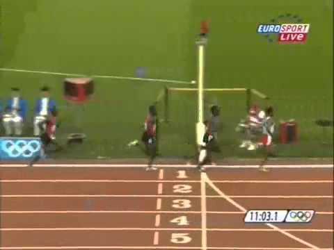 Kenenisa Bekele olympic 5000m Beijing 2008