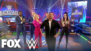 CM Punk makes his surprise debut on WWE Backstage | WWE BACKSTAGE | WWE ON FOX