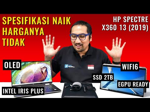 Elegan-Canggih-Kencang: Review HP Spectre x360 13 2019 - Indonesia