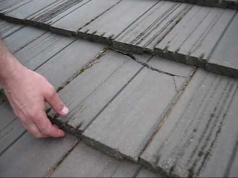 Tile Roof Cracked Roof Life Of Oregon Youtube