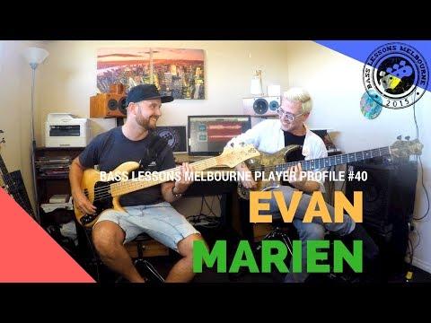 BLM PLAYER PROFILE #40 // EVAN MARIEN - WAYNE KRANTZ/ALLAN HOLDSWORTH/VIRGIL DONATI/SOLO