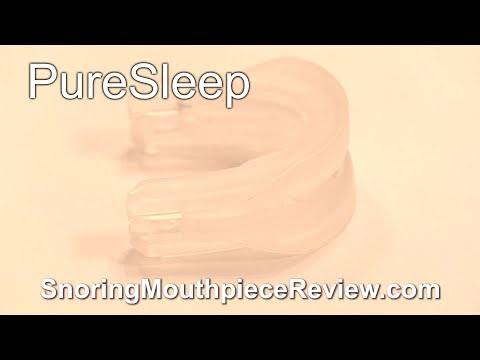 PureSleep - Snoring Mouthpiece Review + Actual Results (4K)
