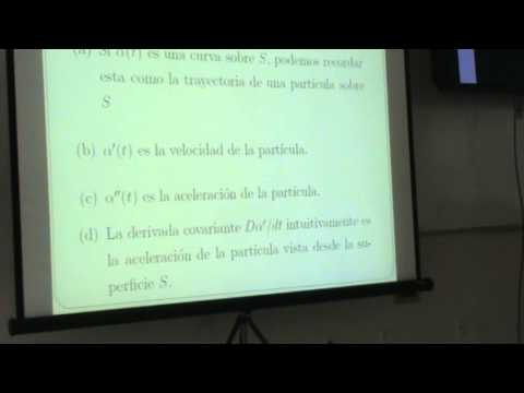 2.3 Relatividad [ Derivada Covariante] Travel Video